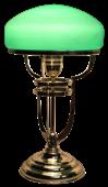 Venuše - secesní stolní lampa
